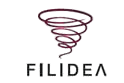 Filidea Logo - production facilities, dyeing on cones, development and yarn retail - SageZander