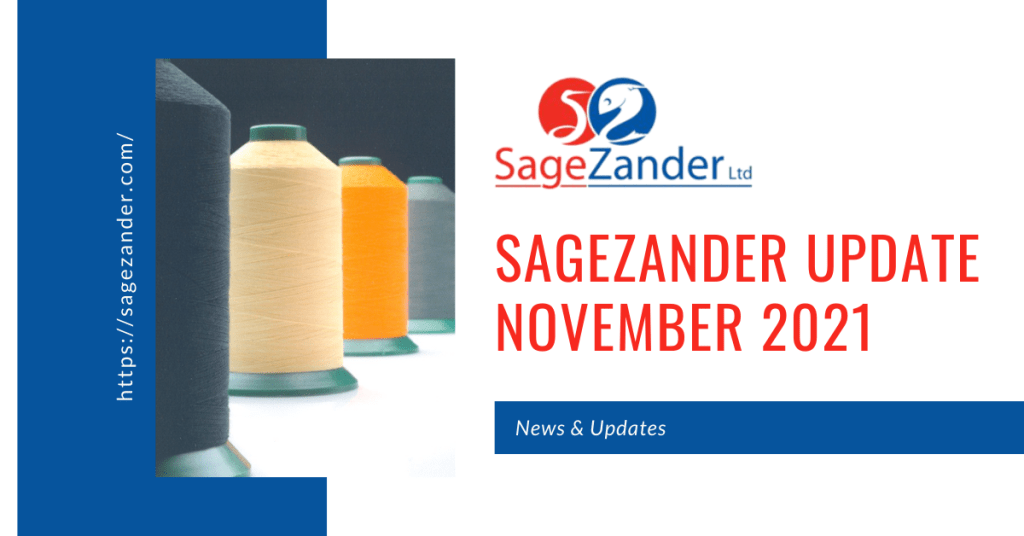 Update November 2021 SageZander