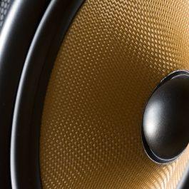 High temperature sowing thread or yarn - kevlar in audio speaker